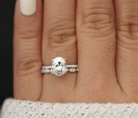 Wedding Rings Oval by 10 Jaw Dropping Oval Wedding Rings Intimate Weddings