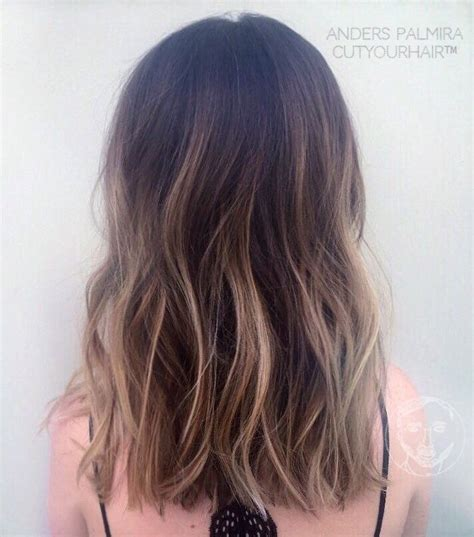 thin hair with ombre best 25 brunette haircut ideas on pinterest balayage