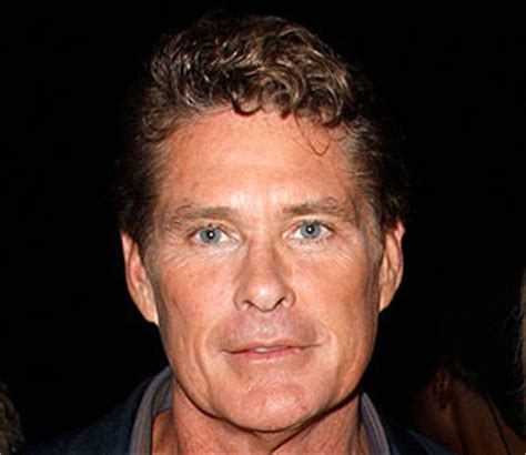 Hasselhoff Battles Boozing Reports by Hoff Disturbed And Saddened By Reports