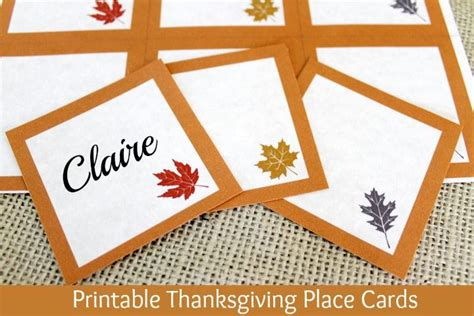 printable thanksgiving cards free printable thanksgiving place cards