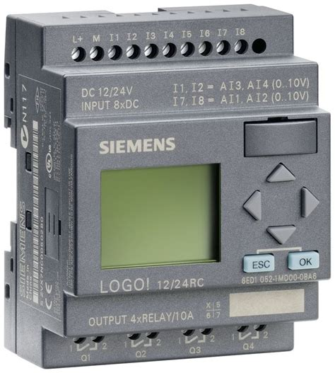 Siemens Gift Card - 6ed1052 1md00 0ba6 siemens logo 12 24rc plc 12 24v dc relay 8 di 4ai 4 do