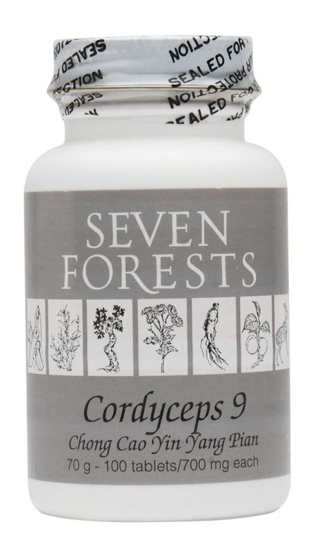 supplement yin blue poppy herbs cordyceps 9 seven forests herbs