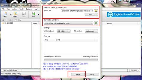 cara membuat usb bootable windows 8 dengan poweriso cara mudah membuat flashdisk bootable dengan poweriso