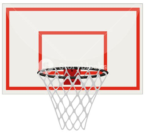 basketball net clipart basketball hoop with net illustration royalty free stock