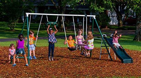 flexible flyer backyard fun swing set flexible flyer backyard fun swing set with plays endurro the best kids indoor