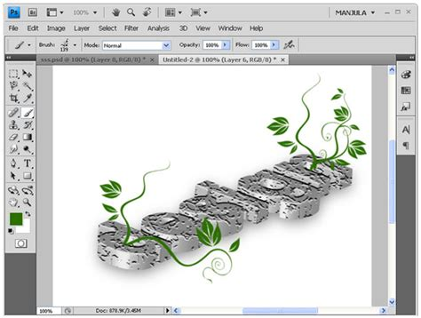 text layout in photoshop floral design using photoshop web design web design blog