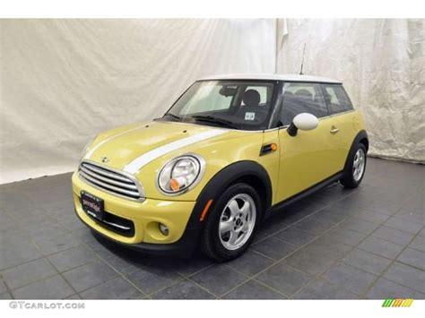 Mini Cooper Yellow by 2011 Interchange Yellow Mini Cooper Hardtop 51776751