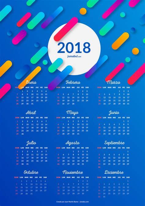 Imagenes Gratis Año 2018 | almanaques 2018 para imprimir gratis jumabu
