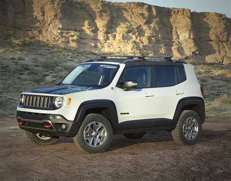 new jeep renegade lifted jeep renegade commander at jeep 50th anual moab event