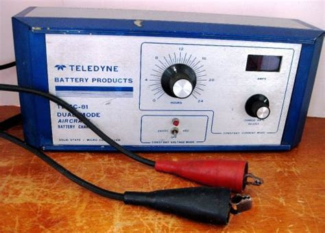 aircraft battery charger purchase teledyne tdmc 81 dual mode aircraft battery