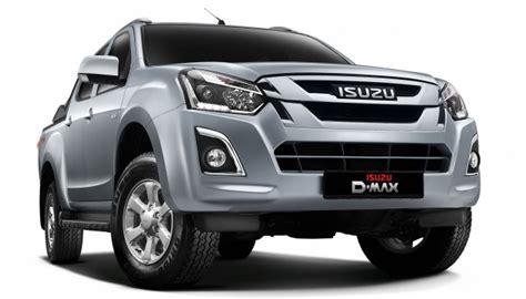 isuzu dmax 2016 isuzu d max facelift launched in malaysia three trim