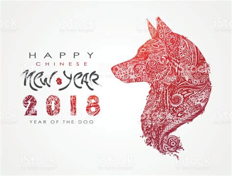 new year 2018 zodiac 2018 de ano novo chin 234 s c 227 o do zod 237 aco vetor e ilustra 231 227 o