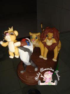 porcelana fria lion el rey le 243 n adorno para torta realizado en porcelana