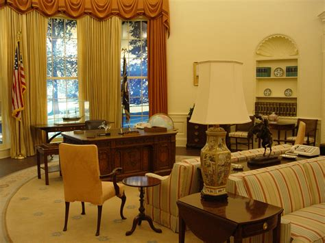 a full size oval office replica presidential experience carter center oval office