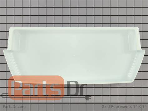 wp2187172 whirlpool refrigerator door shelf bin parts dr