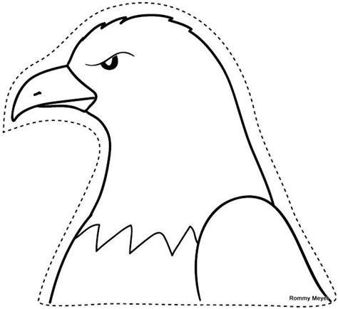 Imagenes De Aguilas Faciles Para Dibujar | dibujo de aguila real para colorear imagui