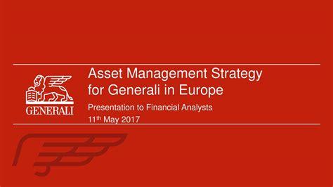 generali spa assicurazioni generali spa 2017 q1 results earnings