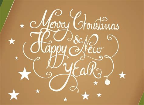 Merry Christmas And Happy New Year Gift Card - happy new year wishes pictures page 10