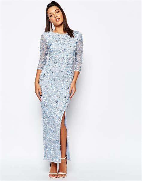 Embellished Sleeve Dress river island sleeve embellished maxi dress the