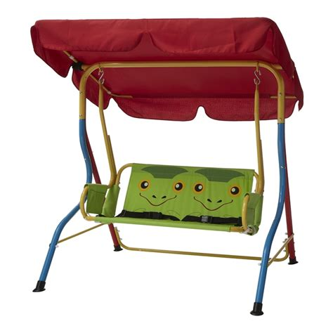 bunnings swings sommersault 2 seater assorted kids frog swing seat