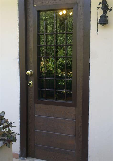 porte blindate vetro porta blindata con vetro instapro