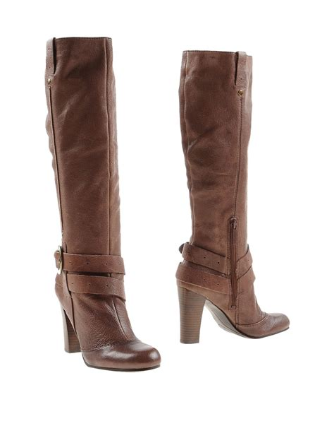 west boots nine west boots in brown lyst