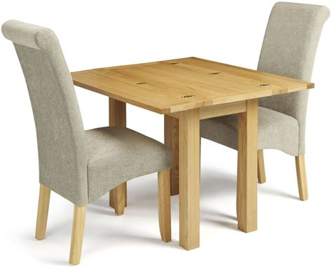 Fabric Chair Dining Set Buy Serene Brent Oak Dining Set Extending With 2 Kingston Plain Fabric Dining Chairs