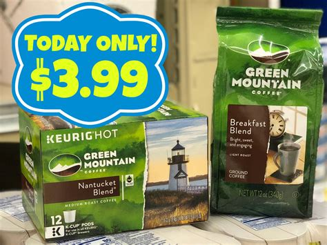 Green Mountain Coffee Instant Win - today only green mountain coffee only 3 99 at kroger kroger krazy