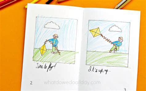 pattern writing part a kangaroo books make your own kite storybook coloring page