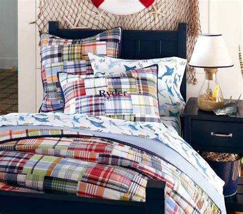 madras quilted bedding pottery barn kid and the o jays