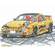 Heres A Skyline GTS T Type M Drift Missile Someone