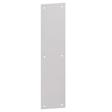 hager stainless steel push plate ae 30sus32d the home depot