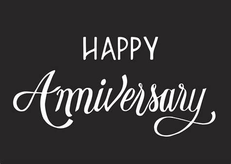 happy anniversary typography design illustration   vectors clipart graphics