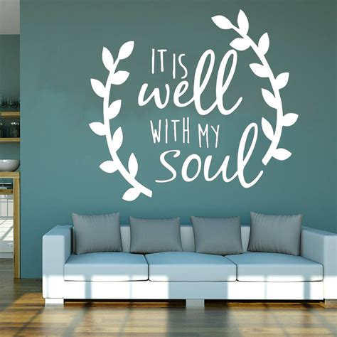 It Is Well With My Soul Wall