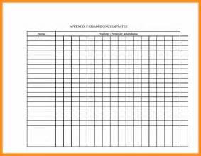Grade Sheet Template by 6 Grade Sheet Template Pdf Actor Resumed