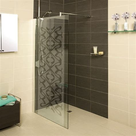 Adding Shower To Bathtub Patterned Shower Screen Bathroom Decor Bathroom
