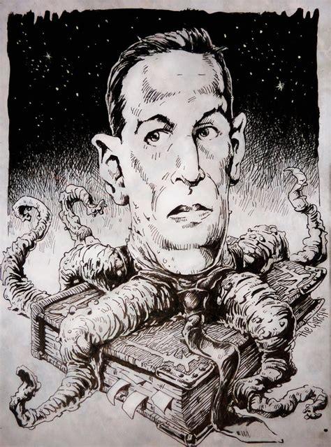 H P Lovecraft Sketches by H P Lovecraft Horror Book Freak By Thegurch On Deviantart