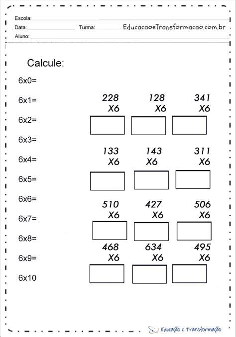 Problemas de Matemática 4 ano - Atividades Situações Problemas