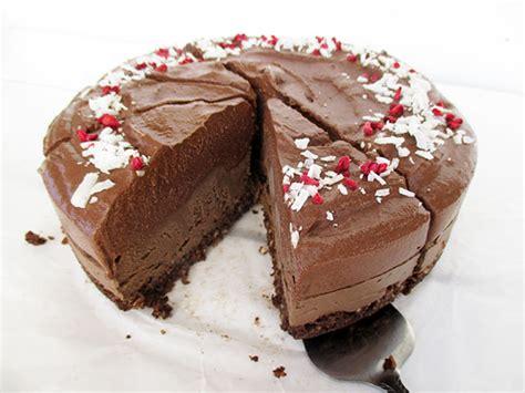 vegan kuchen backen no bake chocolate cake recipe das vegan