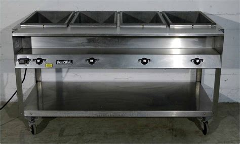 vollrath servewell 4 compartment steam table 120 volts