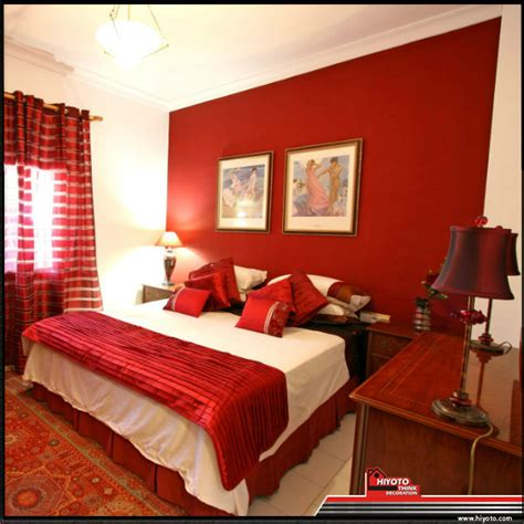 red master bedroom a red bedroom why not choose a pale or darker tone to