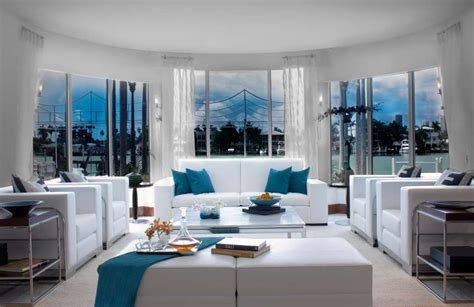 The Living Room Miami Fl Spotlight On Miami Living Spaces Dkor Interiors