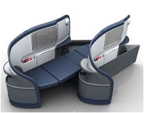 comfort on long flights flat bed seats which airlines have them and whose are