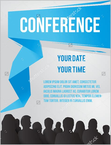 conference id card template meeting invitation templates 12 free psd vector eps ai format free premium