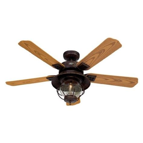 hr 20721 52 quot ceiling fan rustic brown with light