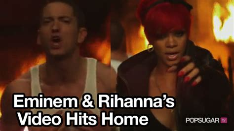 eminem movie offers eminem and rihanna debut music video for quot love the way you