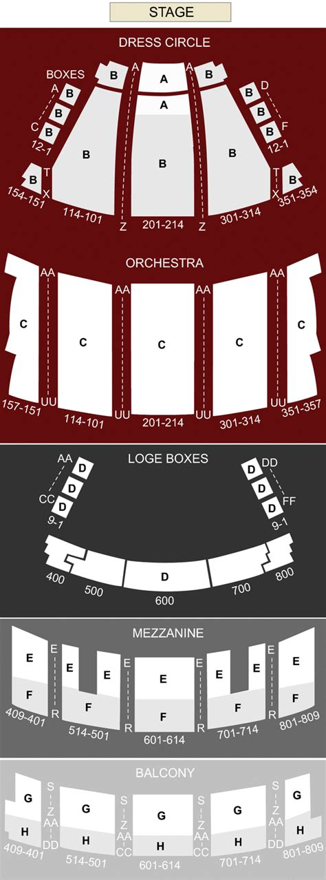 state theater cleveland best seats state theater cleveland oh seating chart stage