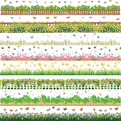 Wall Stickers Borders waterproof flowers border wallpaper wall stickers