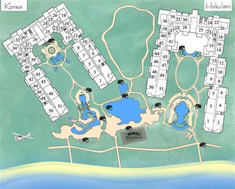 kaanapali resort map honua vacation rentals luxury resort condos