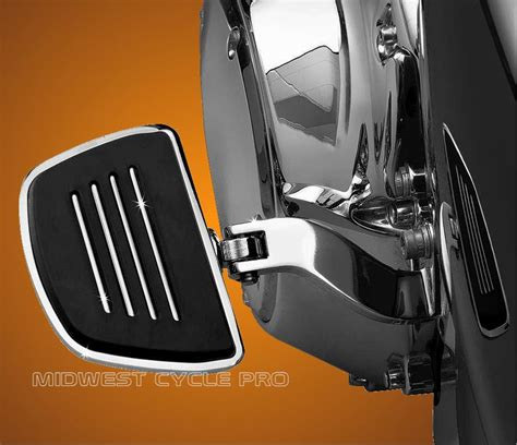 Harley Davidson Passenger Floorboards by Kuryakyn Chrome Mini Floorboards For Harley Davidson